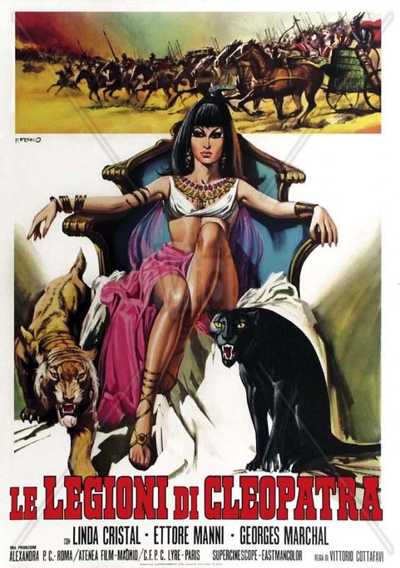 Le Legioni di Cleopatra - Poster 2