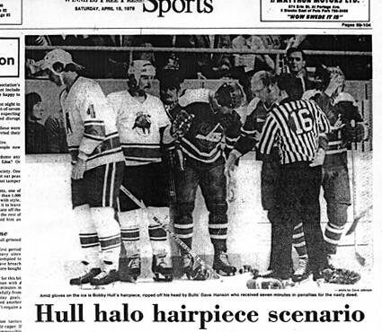 Bulls Hull hairpiece