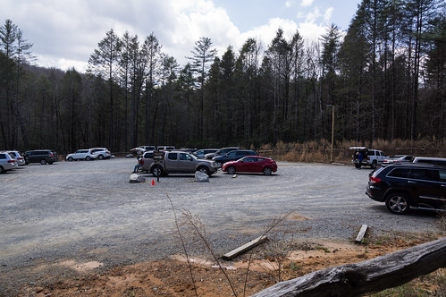 Expanded Hooker Falls Parking Area