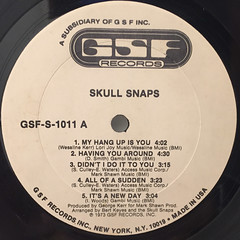 SKULL SNAPS:SKULL SNAPS(LABEL SIDE-A)