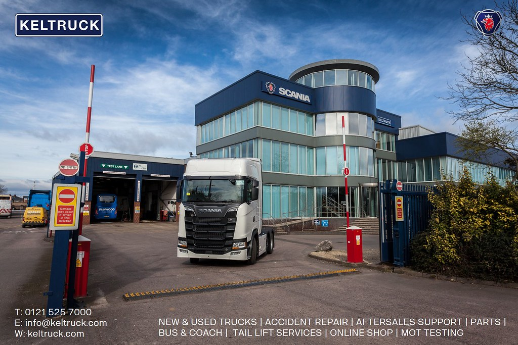 Keltruck Scania West Bromwich