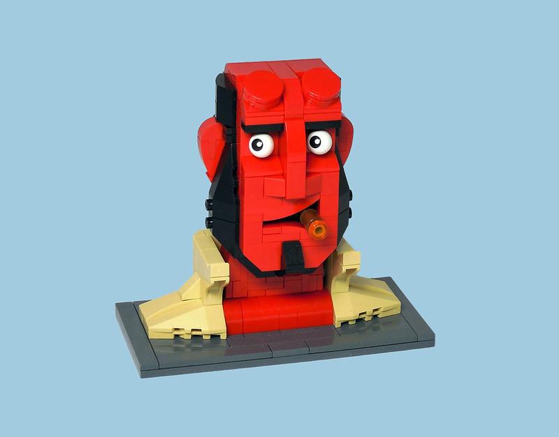 LEGO® MOC by Vitreolum: Hellboy