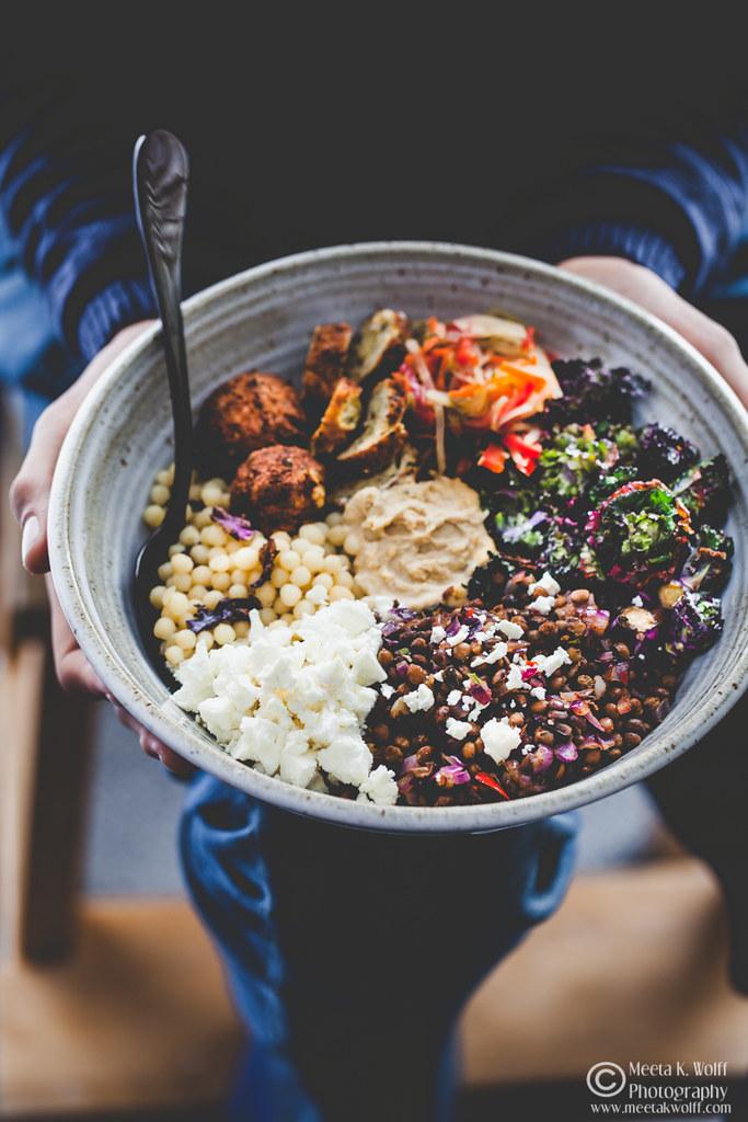 Buddha Bowl-Lentils Falafel GiantCouscous Kalettes Hummus-by Meeta K. Wolff-0045