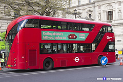 Wrightbus NRM NBFL - LTZ 1485 - LT485 - Liverpool Street 11 - Go Ahead London - London 2017 - Steven Gray - IMG_8581