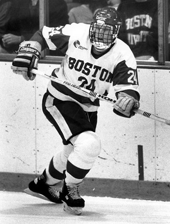 Tkachuk Boston University