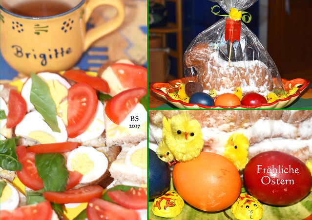 Fröhliche Ostern 2017 ... Osterhasen, Osterküken, Ostereier, Osterfrühstück, Osterlamm ... Fotos: Brigitte Stolle Mannheim