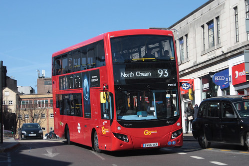 Go-Ahead London MHV25 BV66VKR