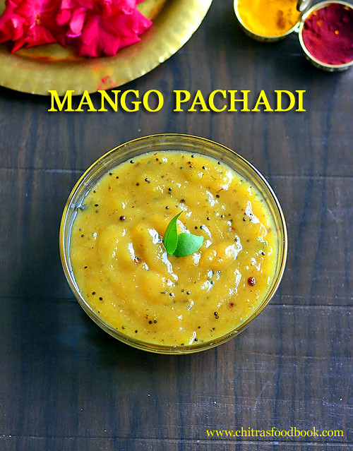 mango pachadi recipe - Tamil New Year Recipes