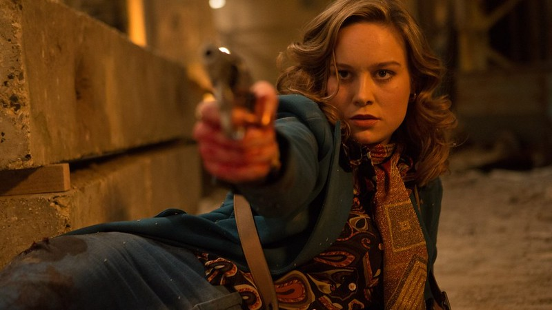 Brie Larson packs the heat -- okay, lukewarmness -- into FREE FIRE.