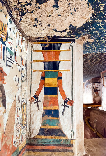 Tomb Of Nefertari Qv66 Valley Of The Queens Tomb Of