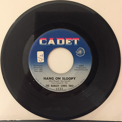 THE RAMSEY LEWIS TRIO:HANG ON SLOOPY(RECORD SIDE-A)