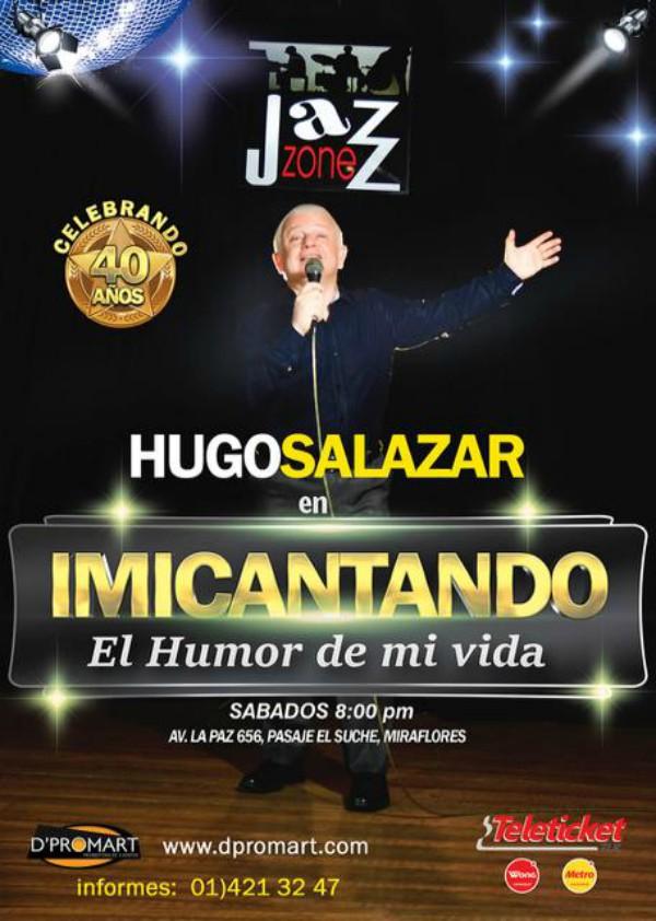 """Hugo Salazar presenta nuevo show: """"El humor en este país ha cambiado tanto como su gente""""."""