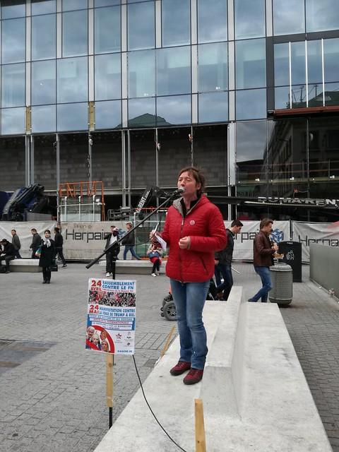Mobilisation contre le FN à Bruxelles (2)