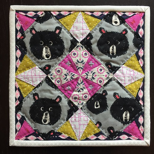 Peekaboo Bears by Poppyprint