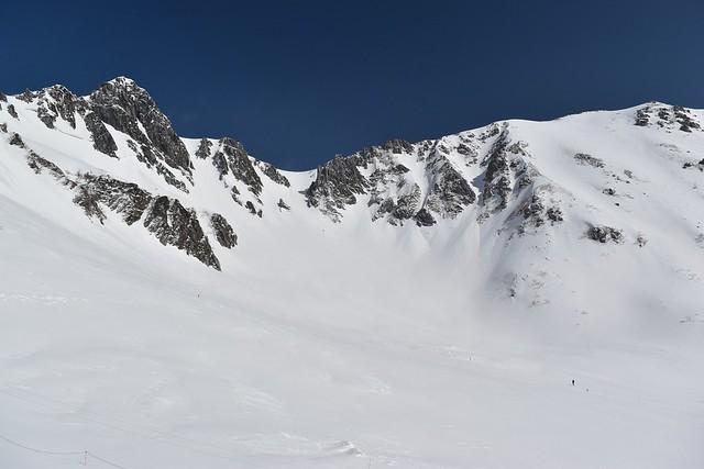 冬の木曽駒ヶ岳・千畳敷カール