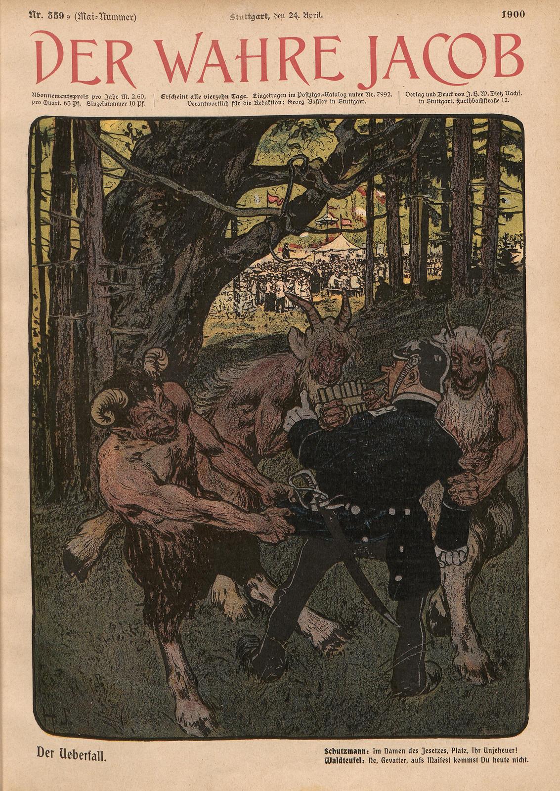 Hans Gabriel Jentzsch - The Raid, 1900