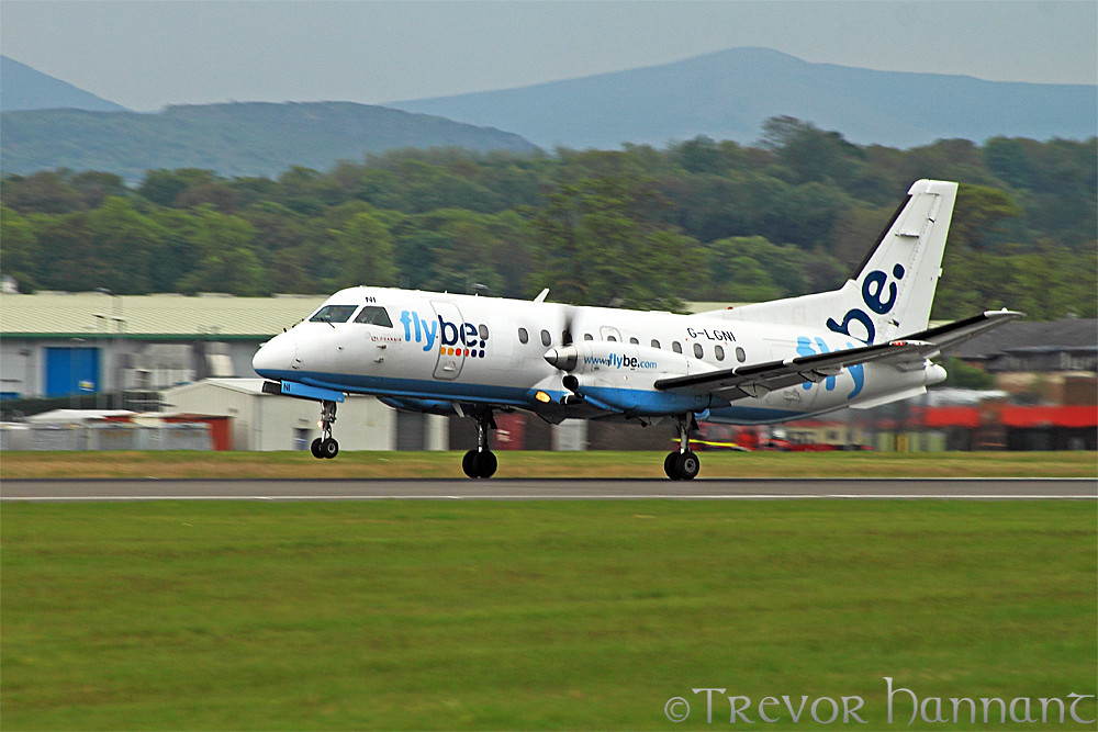 flybe saab 240 g lgni trevor hannant flickr. Black Bedroom Furniture Sets. Home Design Ideas