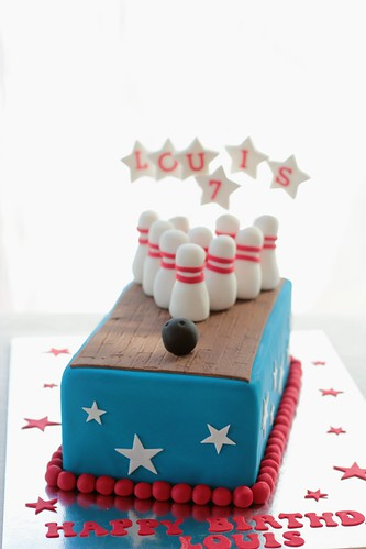 Bowling Pin Cake Decorations