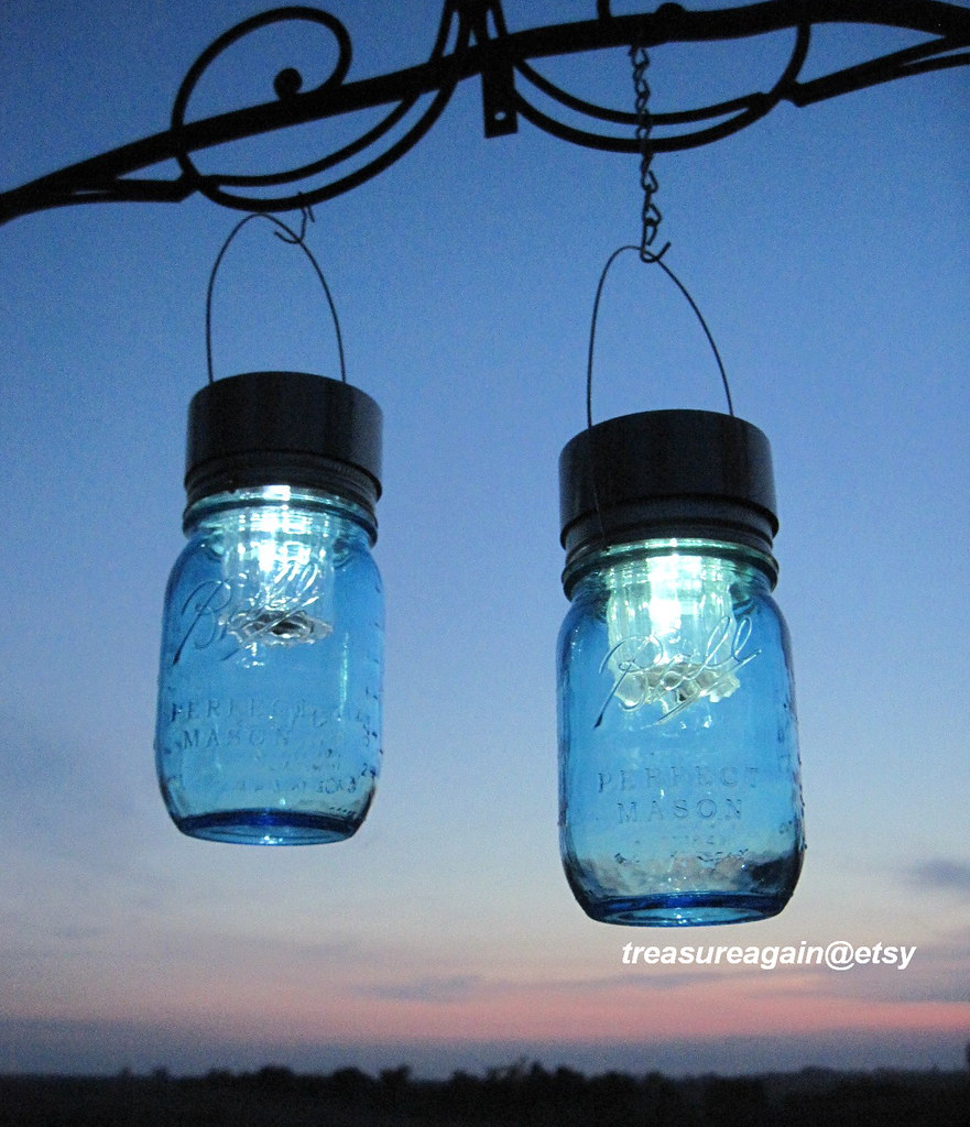 Solar Jars New Ball Solar Jars 100th Anniversary Mason Jar Solar Ligh Flickr