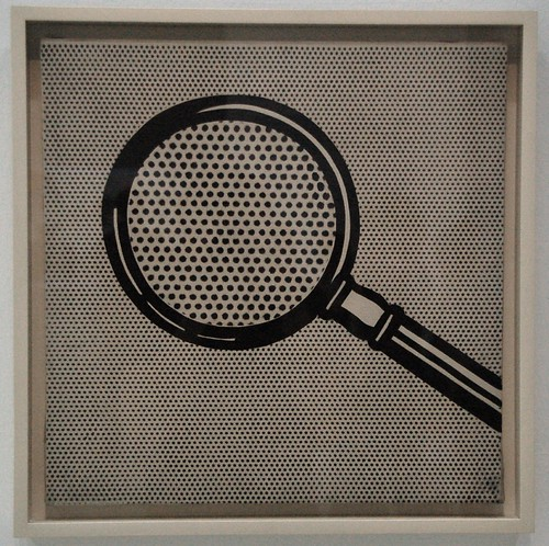 Magnifying Glass [Loupe], 1963, Roy Lichtenstein | by La case photo de Got