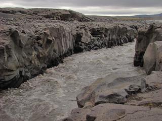 021 Kloof in Jökulsá Á Fjöllum ten zuiden van Herðubreið