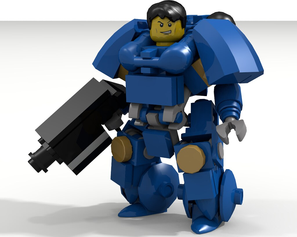 lego warhammer 40k space marine instructions