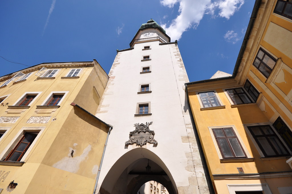 St Michaels Gate and Tower | In Bratislava, Slovakia ...