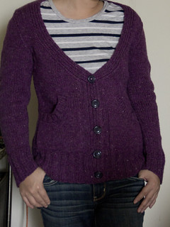 Purple Cardigan | by nerdcoop