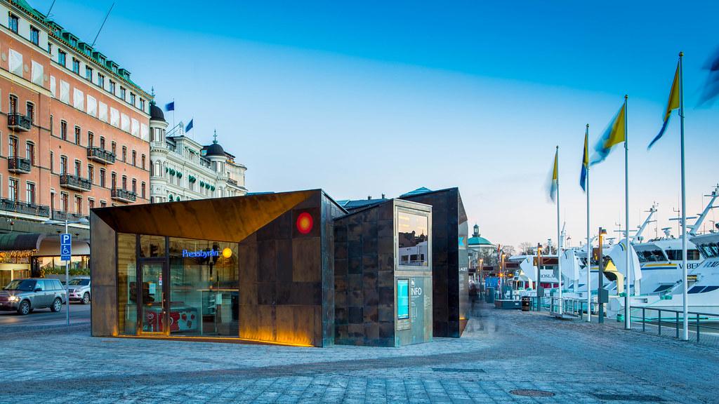 Boat terminals at Strömkajen, Stockholm | Architect: Marge A… | Flickr