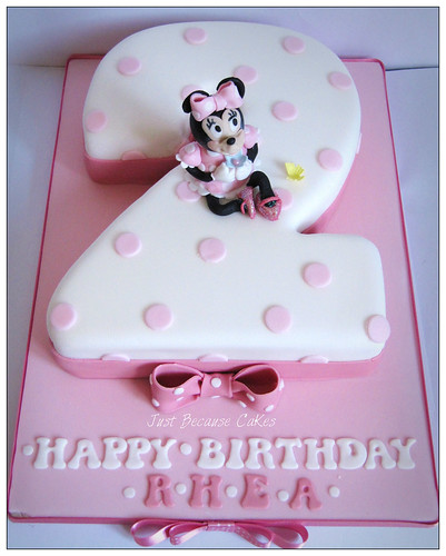 Cake Ideas For 2nd Birthday Girl : Second_Birthday_Minnie_Mouse_Birthday_Cake Gordana ...