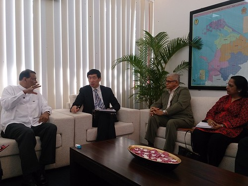 Mr. Haoliang Xu, the United Nations Assistant Secretary-General and UNDP Assistant Administrator & Director, Regional Bureau for Asia and the Pacific met with Major General (Retd) G. A. Chandrasiri, Governor of the Northern Province. | by UNDPSriLanka