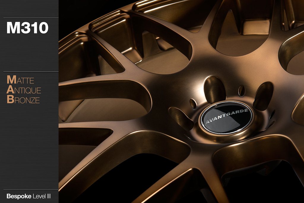 M310 Matte Antique Bronze Avant Garde Wheels Flickr