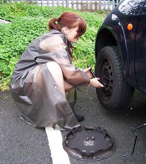 flat tire fetish
