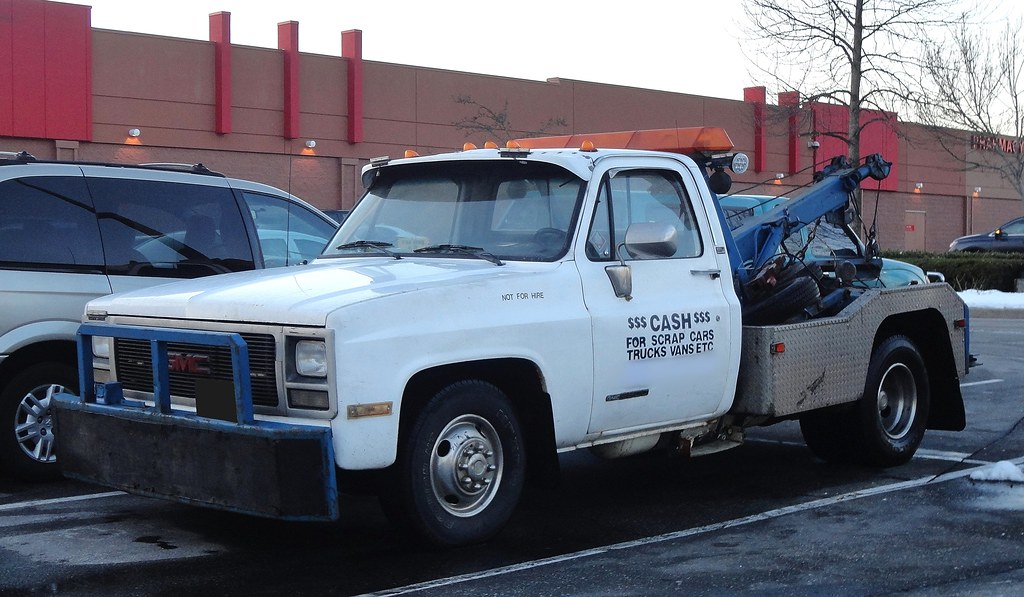 GMC Sierra R/3500 Tow Truck / Not For Hire | Custom_Cab | Flickr