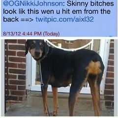 Crazy skinny bitches