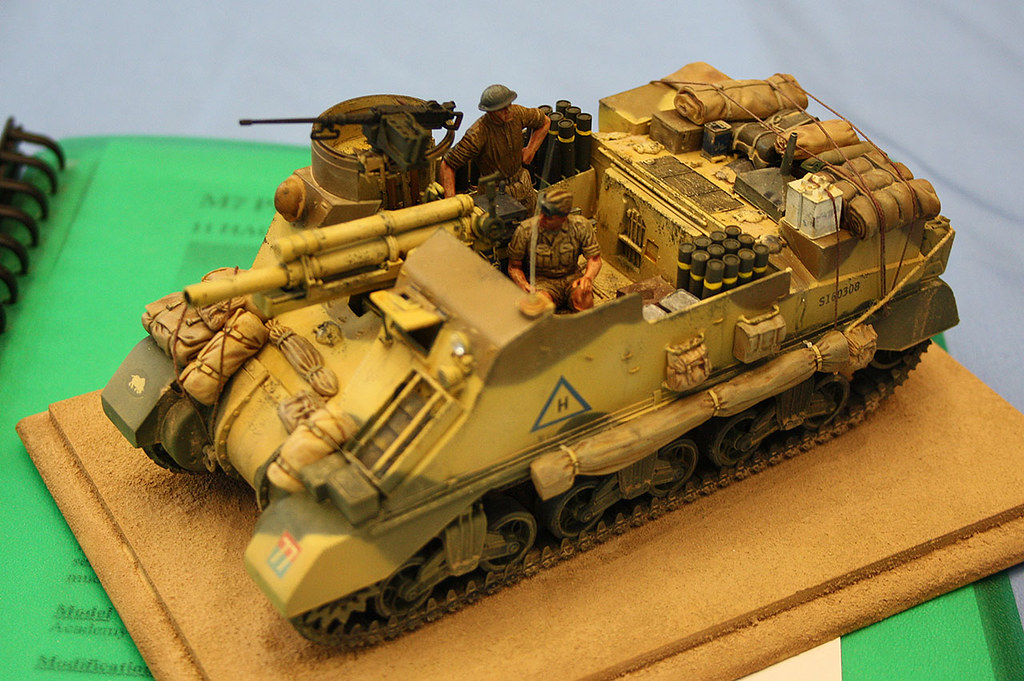 British M7 Priest Self Propelled Gun Another One On My