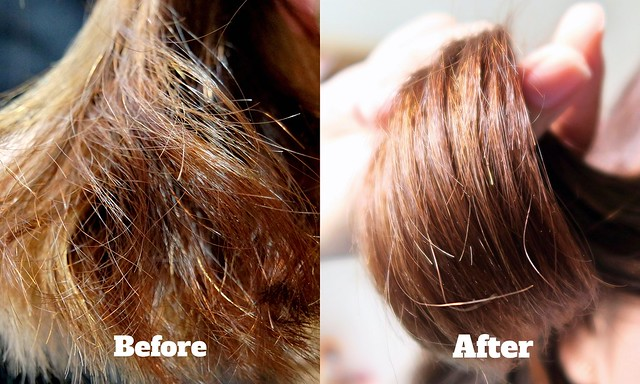 Davines MINU: Before & After