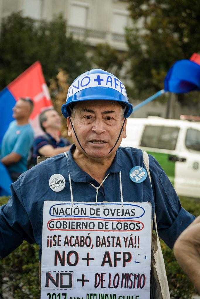 Marcha NO + AFP