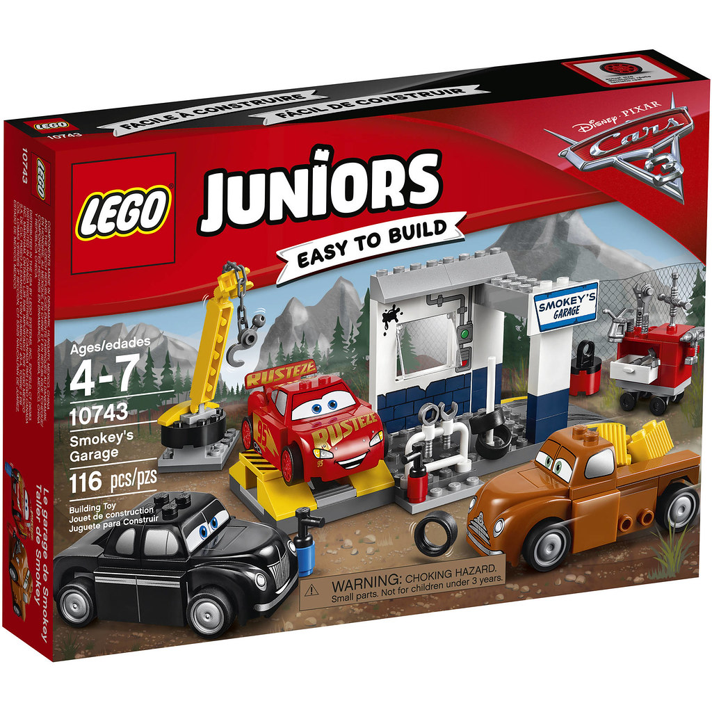 LEGO Juniors Cars 3 10743 - Smokey's Garage