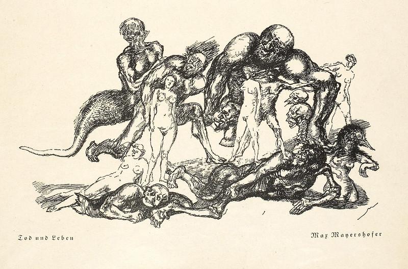 Max Mayrshofer - Death and Life, 1929