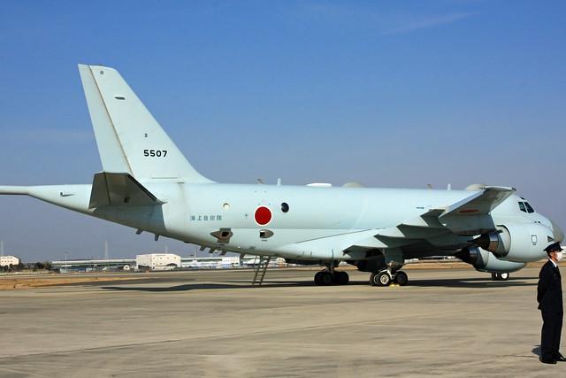 P-1対潜哨戒機 5507号機 IMG_4615_2