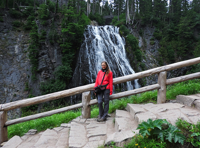 Stunning Waterfalls From The US: Narada Falls, Mount Rainier National Park, WA, USA
