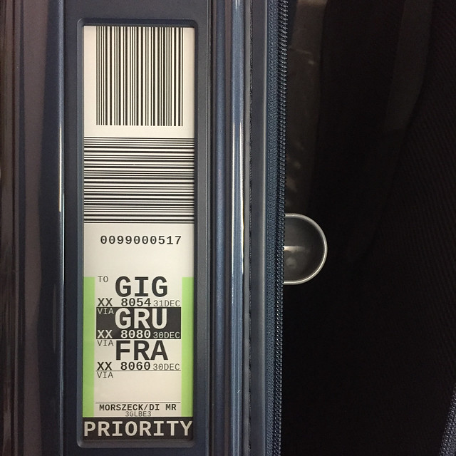 RIMOWA託運標籤示意圖