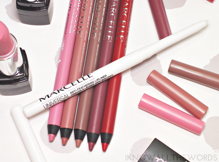 marcelle universal clear lip liner