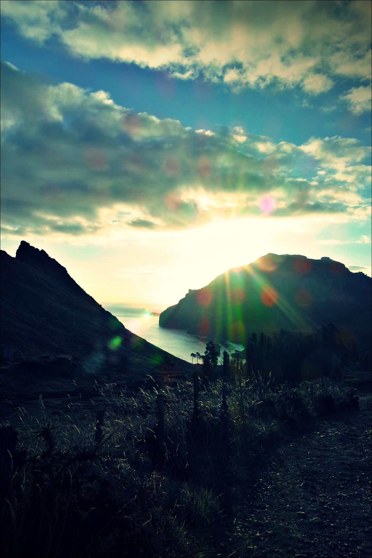 바다-'카미노 데 산티아고 북쪽길. 리엔도에서 산토냐. (Camino del Norte - Liendo to Santoña) '