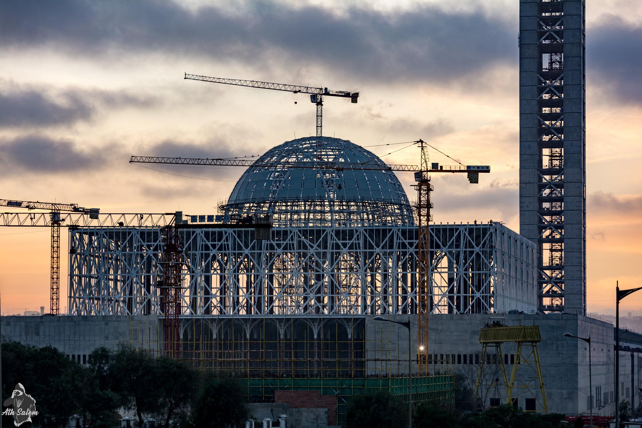 مشروع جامع الجزائر الأعظم: إعطاء إشارة إنطلاق أشغال الإنجاز - صفحة 19 33562099592_2282c93614_k
