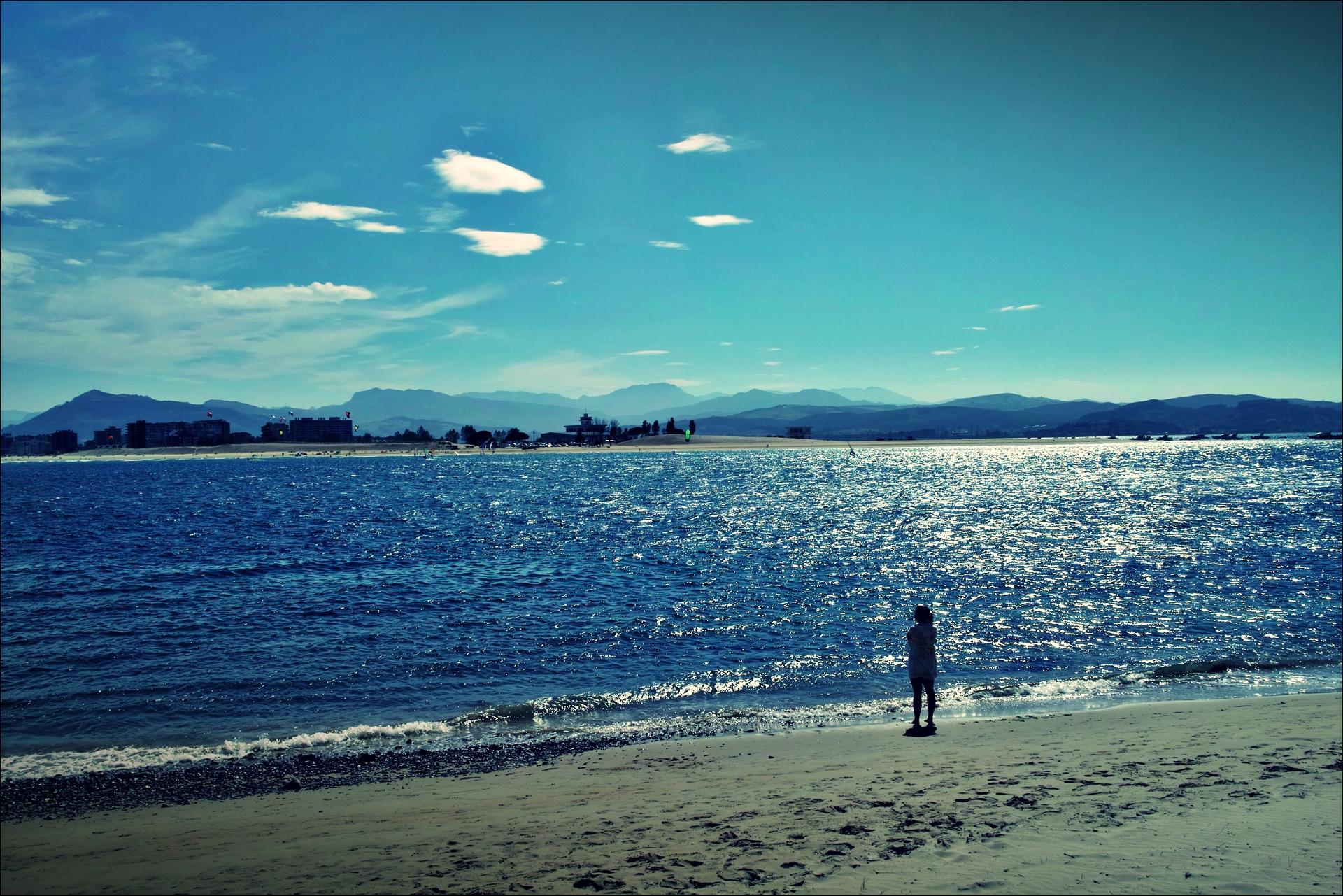 해변-'카미노 데 산티아고 북쪽길. 리엔도에서 산토냐. (Camino del Norte - Liendo to Santoña) '