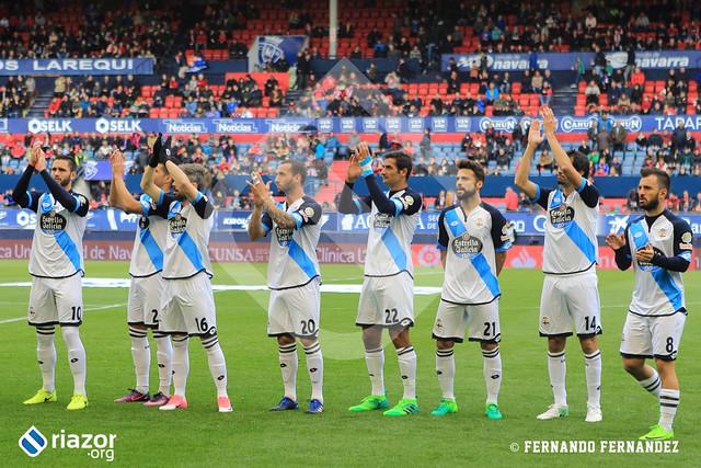 Temporada 16/17. Osasuna - RC Deportivo