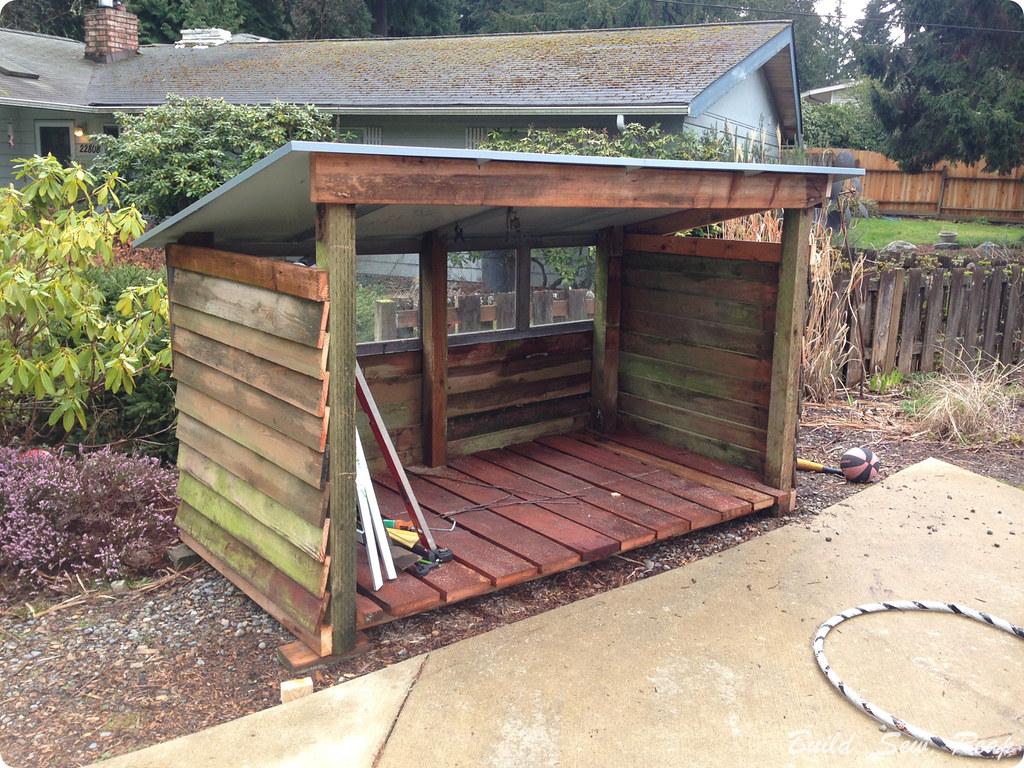 Bike Garage by Julie at Build Sew Reap