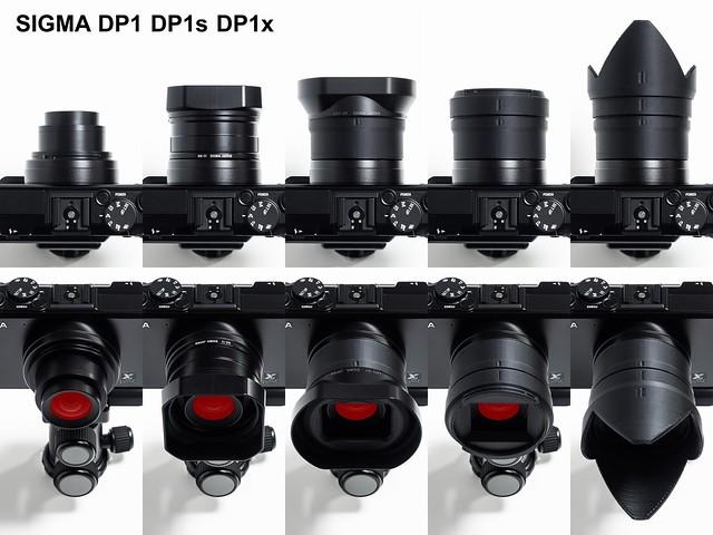 20170406_01_SIGMA DP1、DP1s、DP1x、DP2、DP2s、DP2x用フードアダプター、レンズキャップアダプター、アルカスイス対応クイックシュープレート